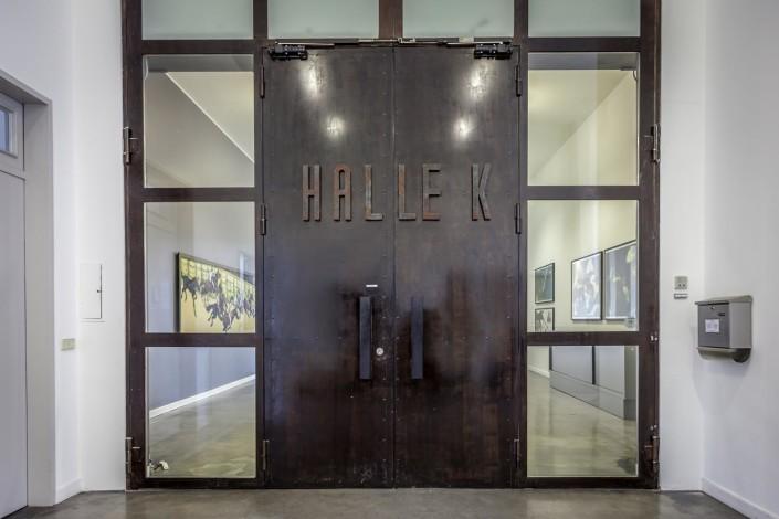 Eingang der Barlach Halle K